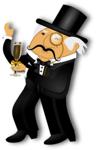 Distinguished Gentleman Clip Art