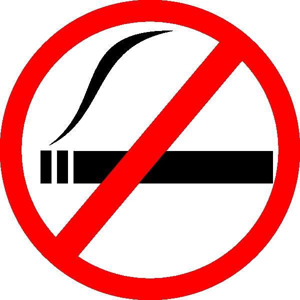 free clipart no smoking symbol - photo #15