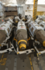 2000 Pound Joint Direct Attack Munition (jdam) Gbu-32 Bombs Stand Ready For Transport And Loading On Air Wing Aircraft, In A Weapon S Magazine Aboard Uss Harry S. Truman Clip Art