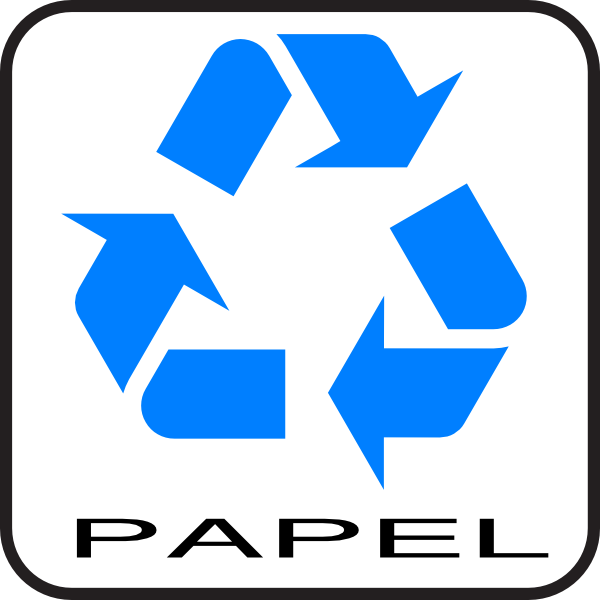 Reciclagem Papel Clip Art at Clker.com - vector clip art online ...