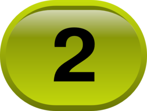 Button For Numbers 2 Clip Art