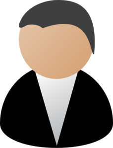 Business Person Black Clip Art