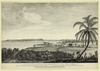 A View Of The City Of The Havana, Taken From The Road Near Colonel Howe S Battery Vue De La Ville De La Havane Prise Du Chemin Pres De La Batterie Du Colonel Howe = Vista De La Ciudad De La Havana Desde El Camino De La Bateria Del Coronel Howe / Drawn By Elias Durnford Engineer ; Etch D By Paul Sandby ; Engraved By Edw D Rooker. Image