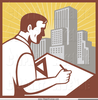 Architect Careers Clipart Image