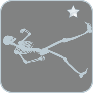 Skeleton Walking Image