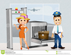 Free Clipart Airport Security Image