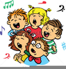 Songs Of Praise Clipart Image