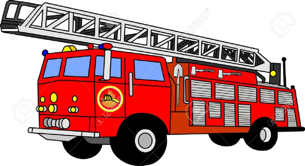 Image result for fire trucks clip art