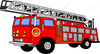 Fire Truck Clipart Image