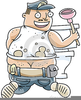 Plumbers Crack Clipart Image