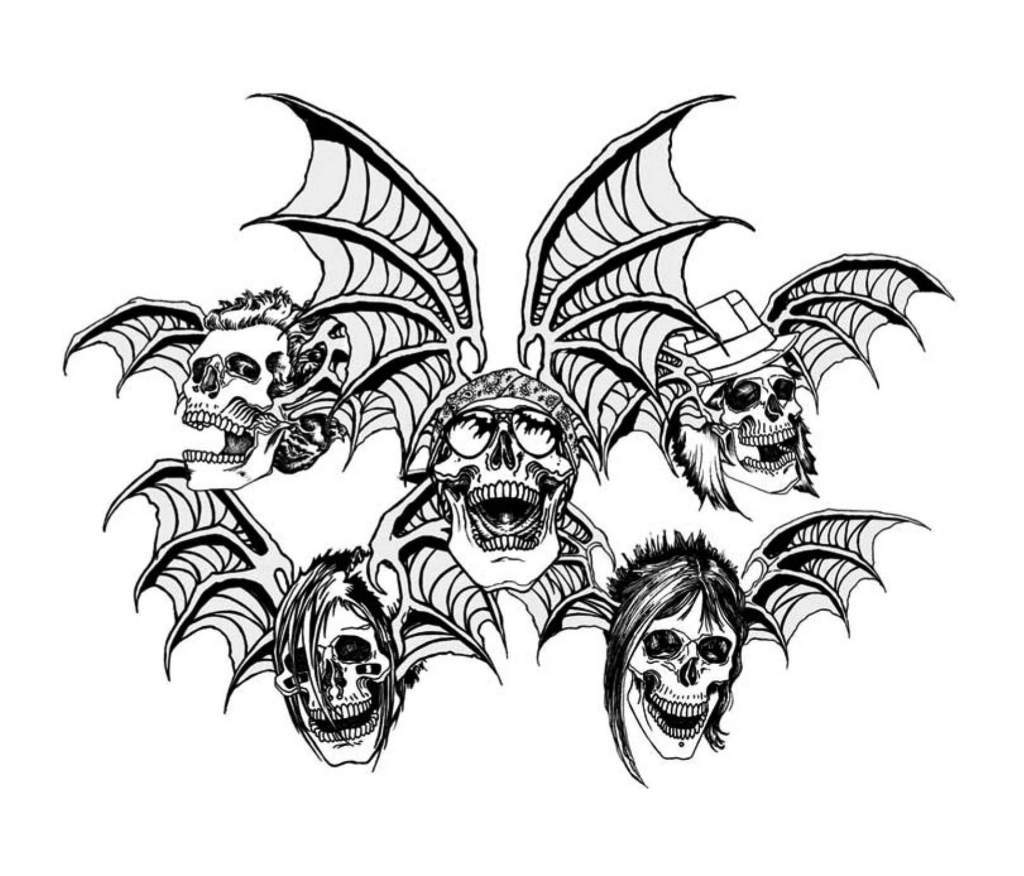 10 Cute Animals Coloring Pages besides Pre K likewise Cool Things To Draw likewise  furthermore Avenged Sevenfold. on scary halloween bowl