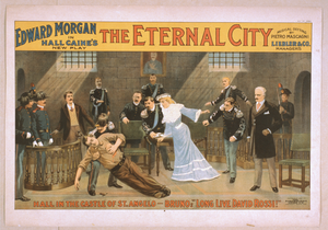 Edward Morgan In Hall Caine S New Play, The Eternal City Musical Setting By Pietro Mascagni. Image