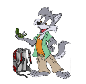 Wolf cartoon. Free clipart images at
