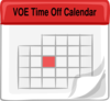 Voe Time Off Clip Art