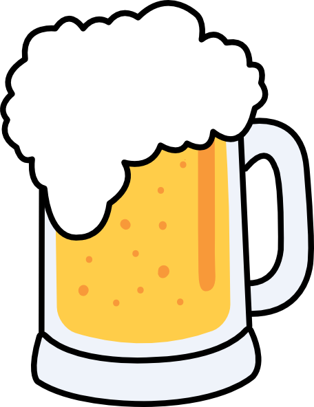 One Line Art Beer : Beer clip art at clker vector online