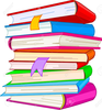 Stacks Of Books Clipart Image