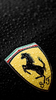 Ferrari On Black Mastiway Com Image