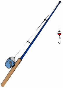 Fishing Pole Clip Art