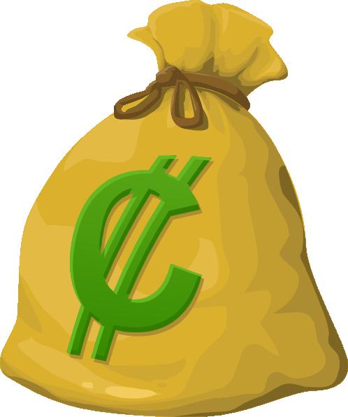 Money Bag Clip Art at Clker.com - vector clip art online ...