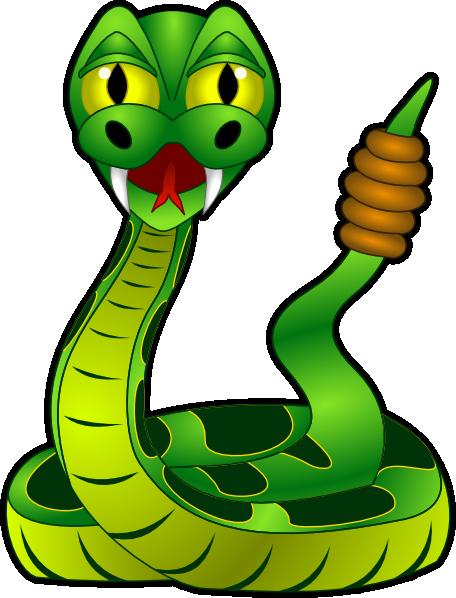 Rattle Snake Clip Art at Clker.com - vector clip art ...