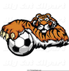 Free Clipart Prowling Tiger Image