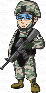 Army Mp Clipart Image