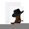 Cowboy Boot Icon Image