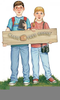 Magic Tree House Jack And Annie Clipart Image