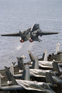 Uss Stennis - F-14a Launch Image