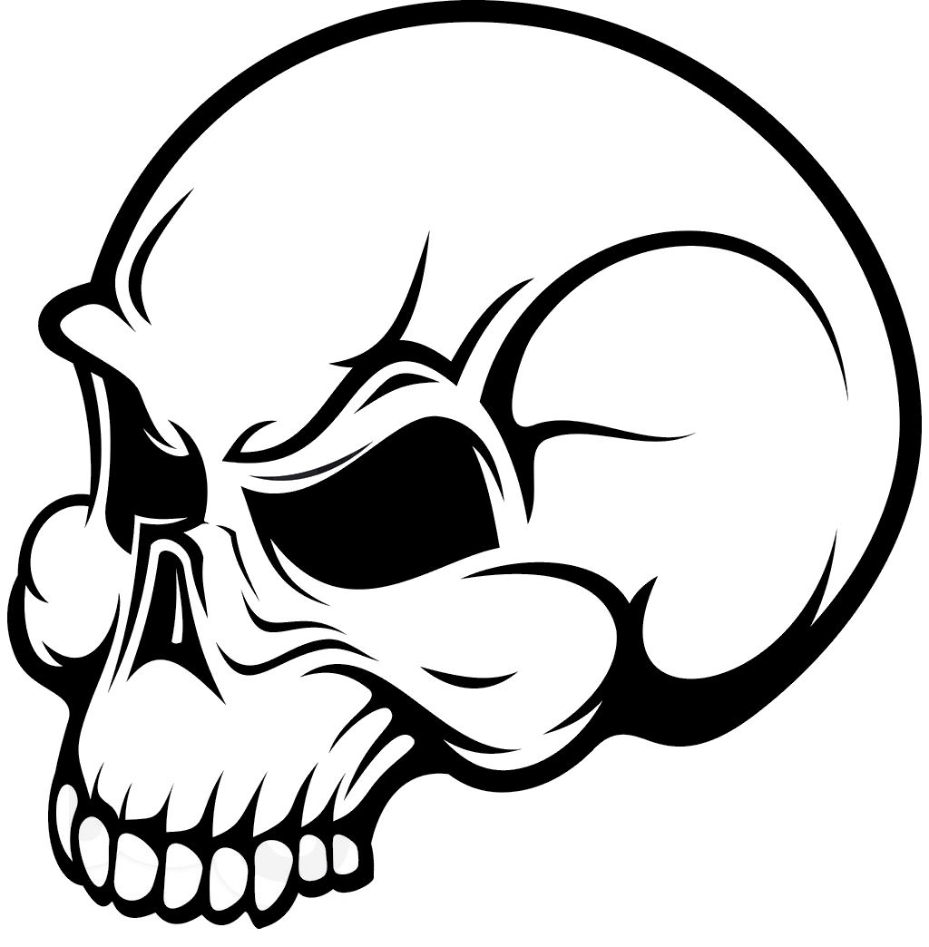 Deer Skull Vector Clip Art