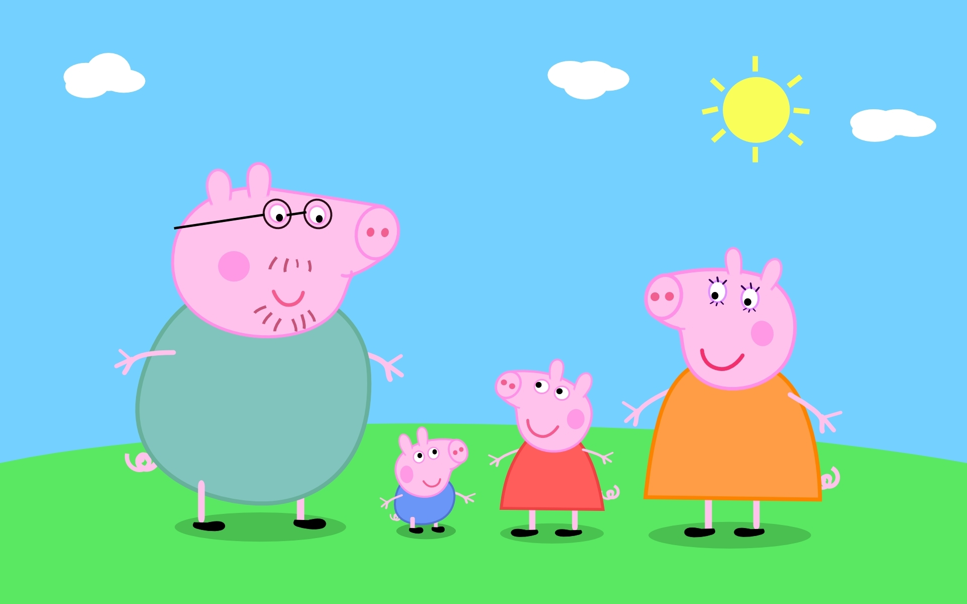 Peppa pig gallery free images at clker vector clip art peppa pig gallery image voltagebd Images