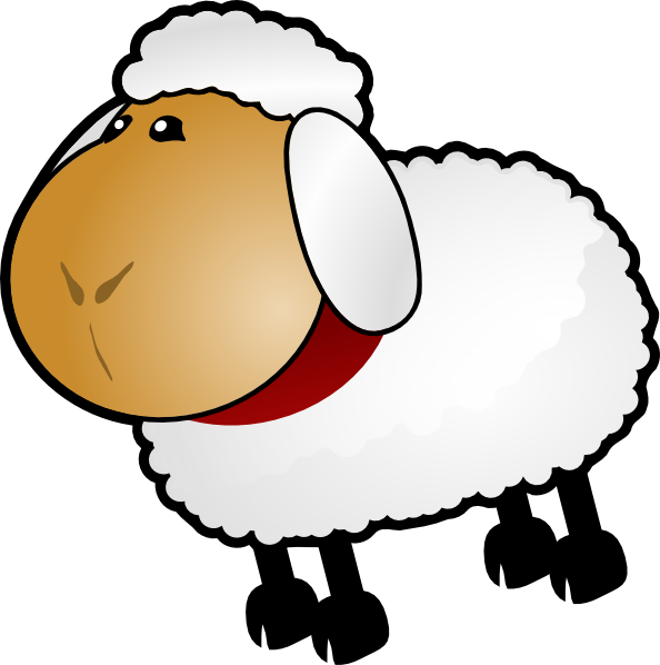 sheep rotate 6 clip art at clker com vector clip art online rh clker com sheep clip art free gif sheep clipart for kids
