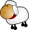 Sheep, Rotate 6 Clip Art