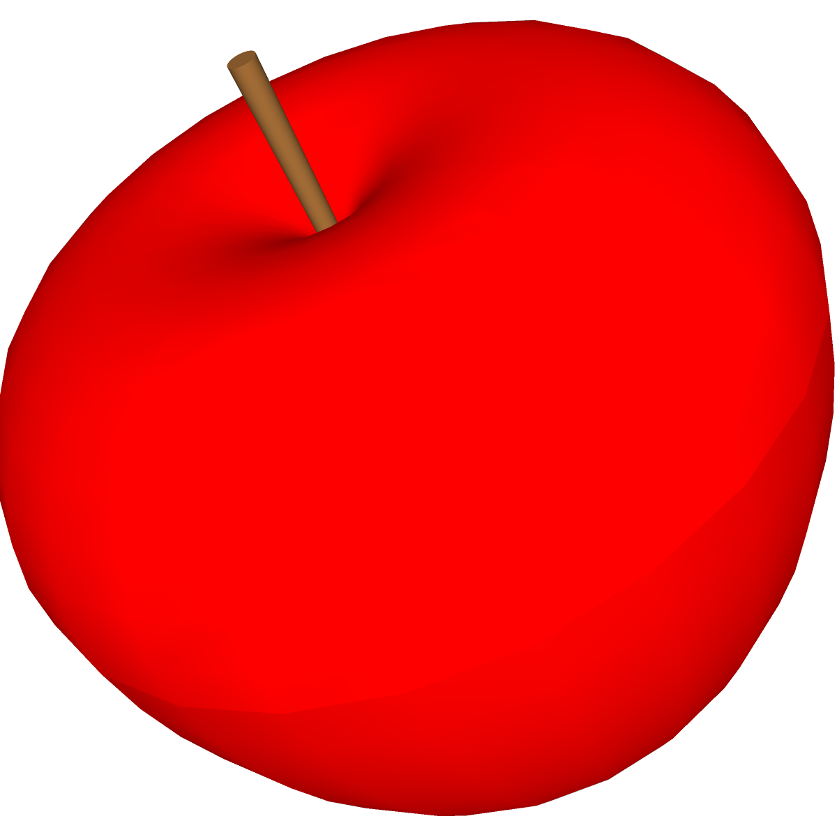red apple clipart - photo #24