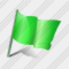 Icon Flag Green Image