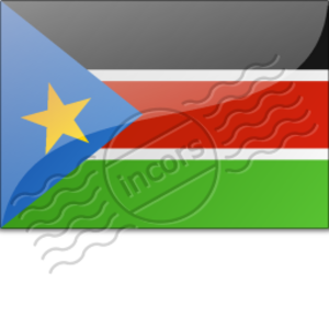 Flag South Sudan Image