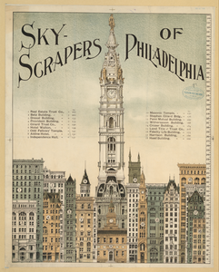 Sky-scrapers Of Philadelphia Image