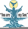 Baptism Of Our Lord Clipart Image