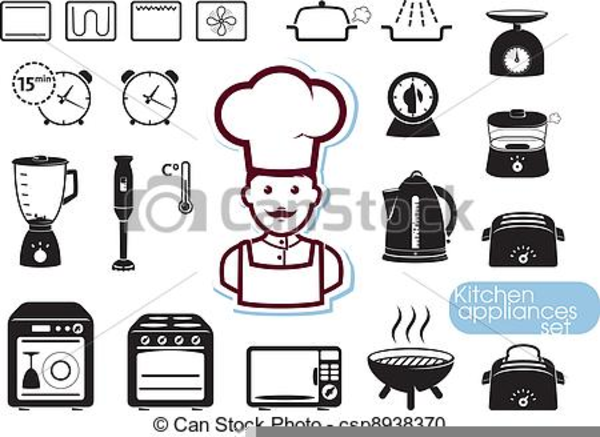 Kitchen Appliances Clip Art ~ Clipart pictures kitchen appliances free images at clker
