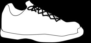 sneaker clip art at clker  vector clip art online
