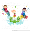 Students Assembly Clipart Image
