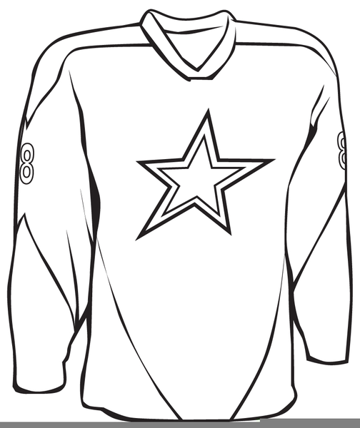 Hockey Jersey Clipart Free Images At Clker Com Vector Clip Art