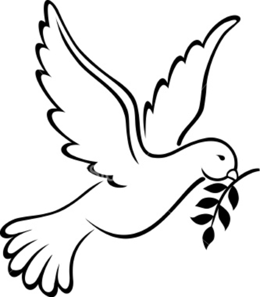 Dove Peace Symbol Clip Art