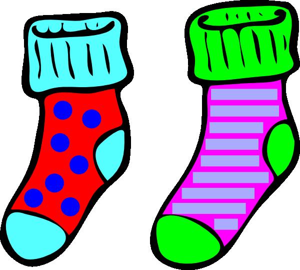 socks clip art at clker com vector clip art online royalty free rh clker com clip art shoes images clip art shoes of peaces