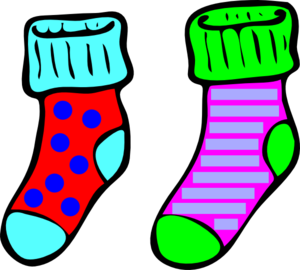 socks clip art at clker com vector clip art online royalty free rh clker com socks clipart black and white clip art socks free