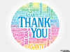 Free Thank You In Different Languages Clipart Image