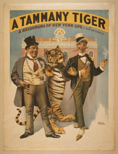A Tammany Tiger A Melodrama Of New York Life By H. Grattan Donnelly.  Image
