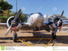 Twin Engine Airplane Clipart Image