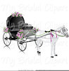 Wedding Horse And Carriage Clipart Image