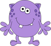 Bug Eyed Monster Clipart Image